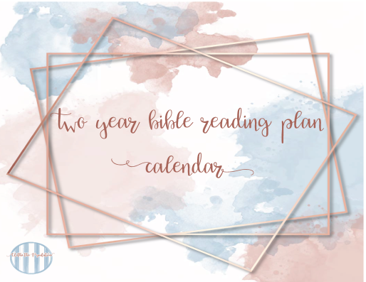 Bible Reading Plan Monthly Calendar-01