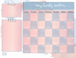 Bible Reading Plan Monthly Calendar-06