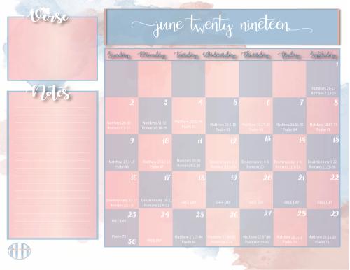 Bible Reading Plan Monthly Calendar-07