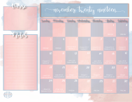 Bible Reading Plan Monthly Calendar-12